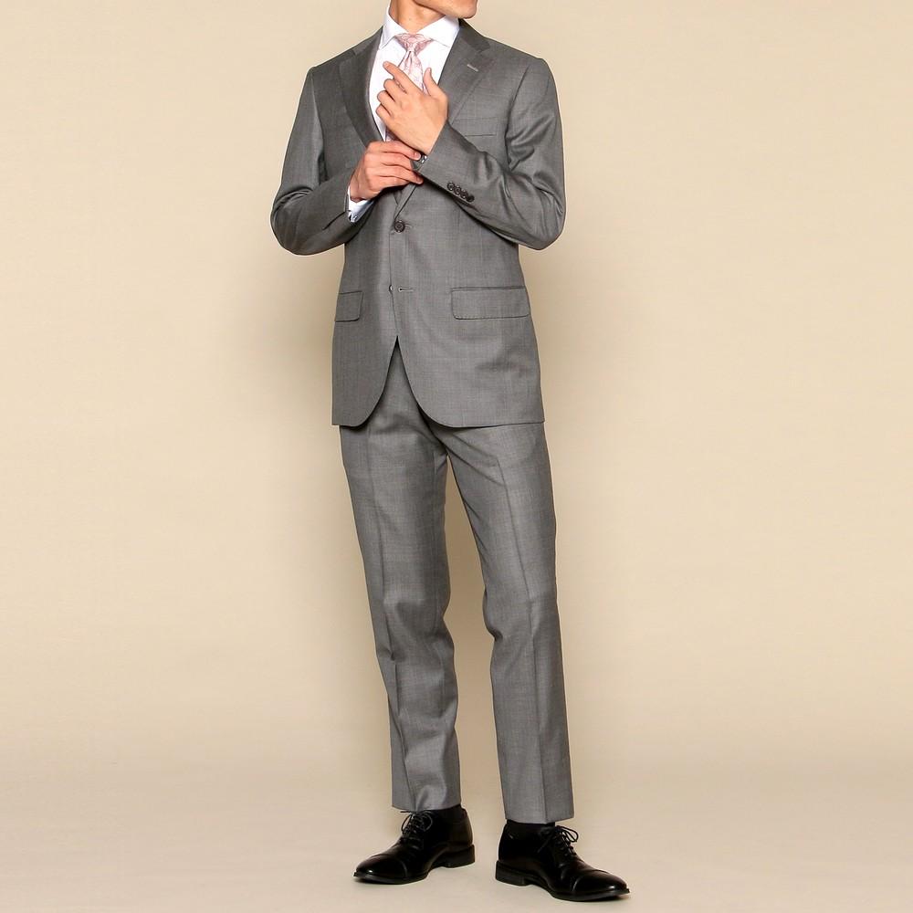 トゥモローランド スーツ グレー
