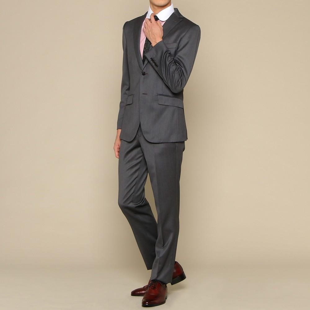 アバハウス スーツ セット グレー