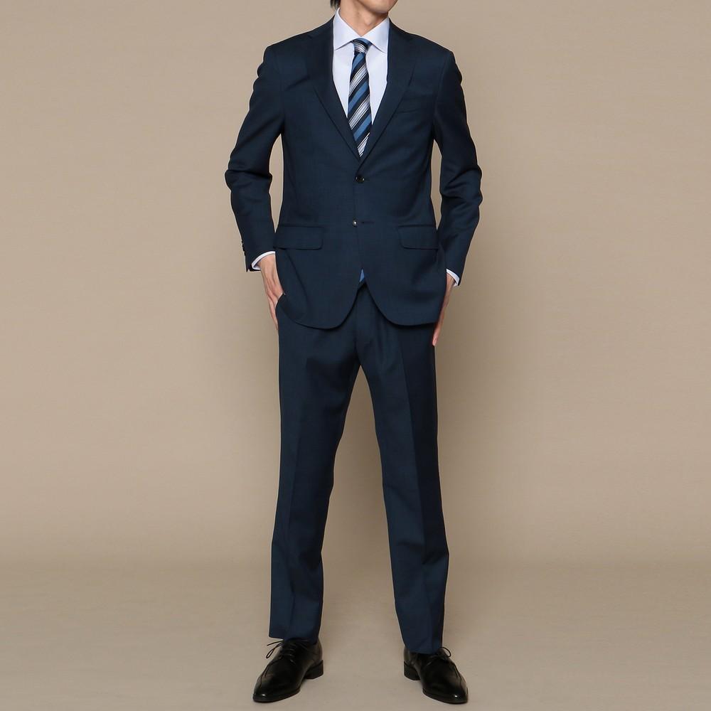 メンズファッションレンタル、スーツ、メンズスーツ、ネイビー ビームス ハート スーツ セット ネイビー