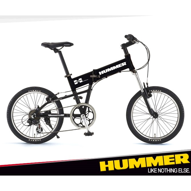 いろいろ、自転車、スポーツ・アウトドア、ブラック ハマー 折りたたみ自転車(20インチ) ブラック