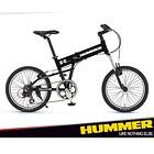 ハマー 折りたたみ自転車(20インチ) ブラック
