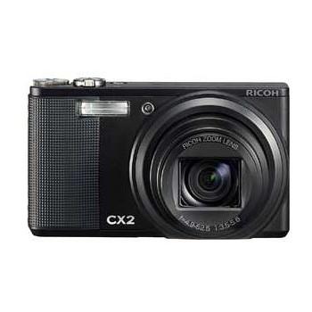 [CX2]リコー コンパクトデジカメ ブラック