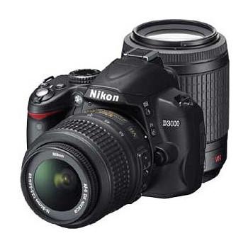 [D3000]Nikon 一眼レフ ダブルズームキット 1000万画素