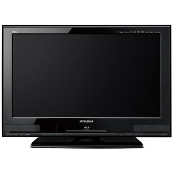 [LCD-26BHR400]REAL 三菱 液晶テレビ HDD内蔵ブルーレイディスクレコーダー搭載 26V型