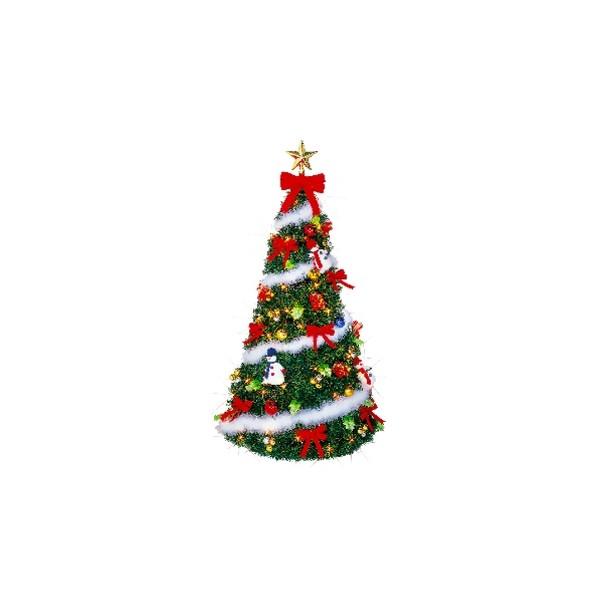 いろいろ、クリスマスツリー、イベント・季節用品 120cmイージーメイドツリーセット
