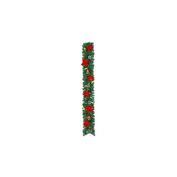 いろいろ、クリスマスオブジェ、イベント・季節用品 180cmメリーサンタガーランド