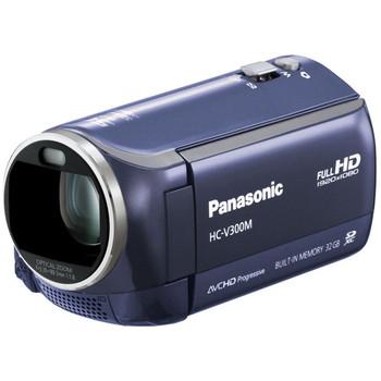 [HC-V300M]パナソニック ビデオカメラ ブルー