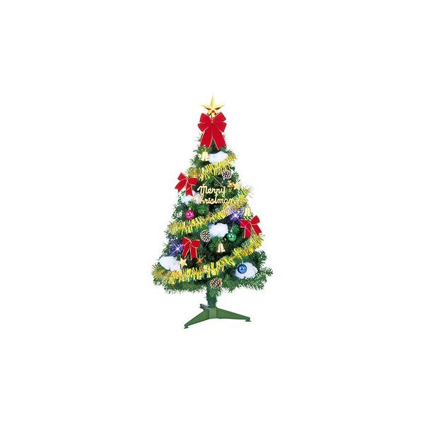 いろいろ、クリスマスツリー、イベント・季節用品 120cm スパーツリーセット(ホーリーベル)