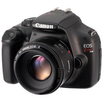 [EOS Kiss X50]Canon 一眼レフ EF-S18-55 IS II レンズキット 1200万画素