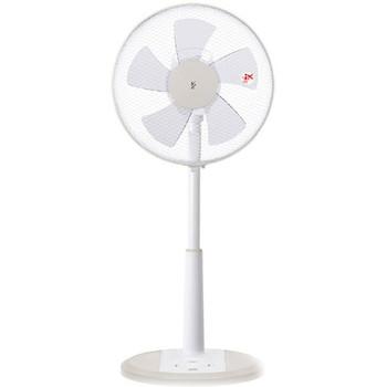 [YMR-K302]ヤマゼン リビング扇風機 ホワイト(リモコン付)