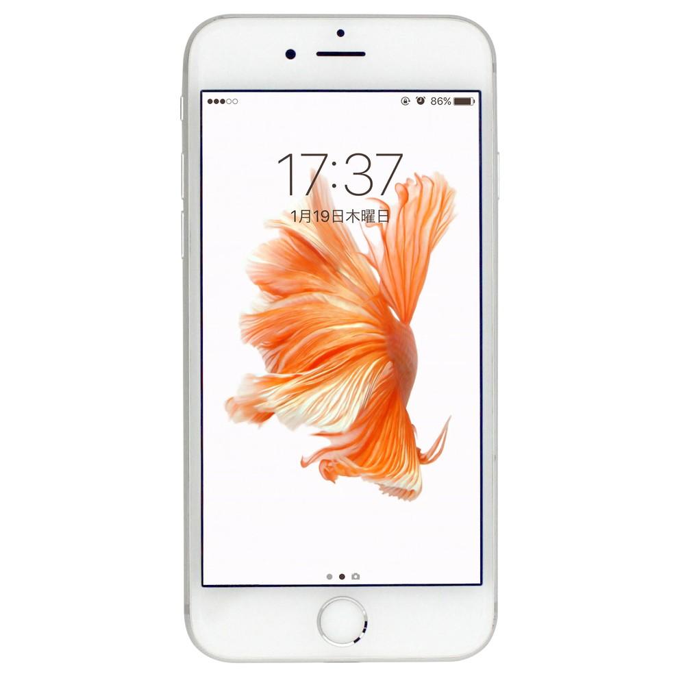 いろいろ、SIMフリースマートフォン、PC・オフィス、シルバー 【長期】iPhone6s シルバー 128GB(SIMフリースマホ)