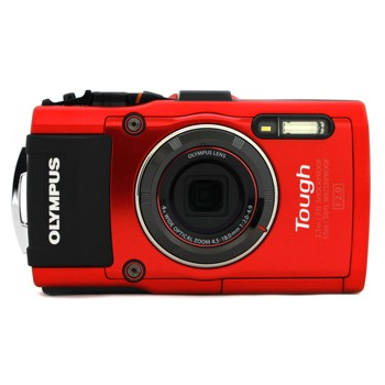 [STYLUS TG-4 Tough]オリンパス 防水カメラ レッド