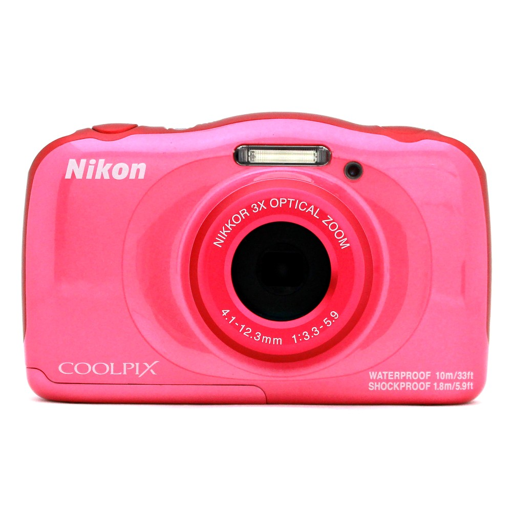 [iteminfo_actress_name] いろいろ、デジタルカメラ、カメラ、ピンク 【ニコン/クールピクス】1317万画素 防水デジタルカメラ COOLPIX W100