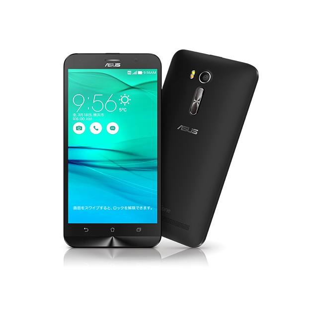 いろいろ、SIMフリースマートフォン、PC・オフィス、ブラック ASUS ZenFone Go ブラック(SIMフリースマホ)
