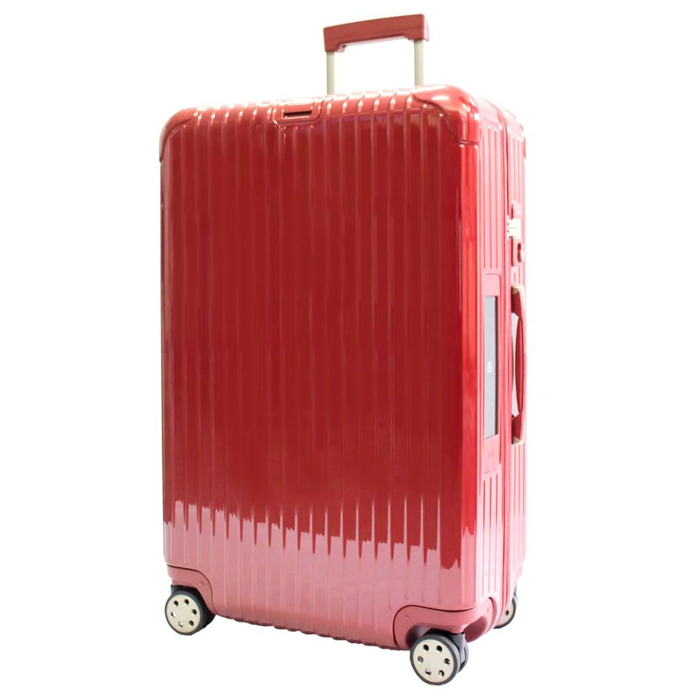 いろいろ、スーツケース(8〜14泊)、旅行、レッド 【8〜14泊】リモワ SALSA Deluxe 4輪 98L スーツケース レッド