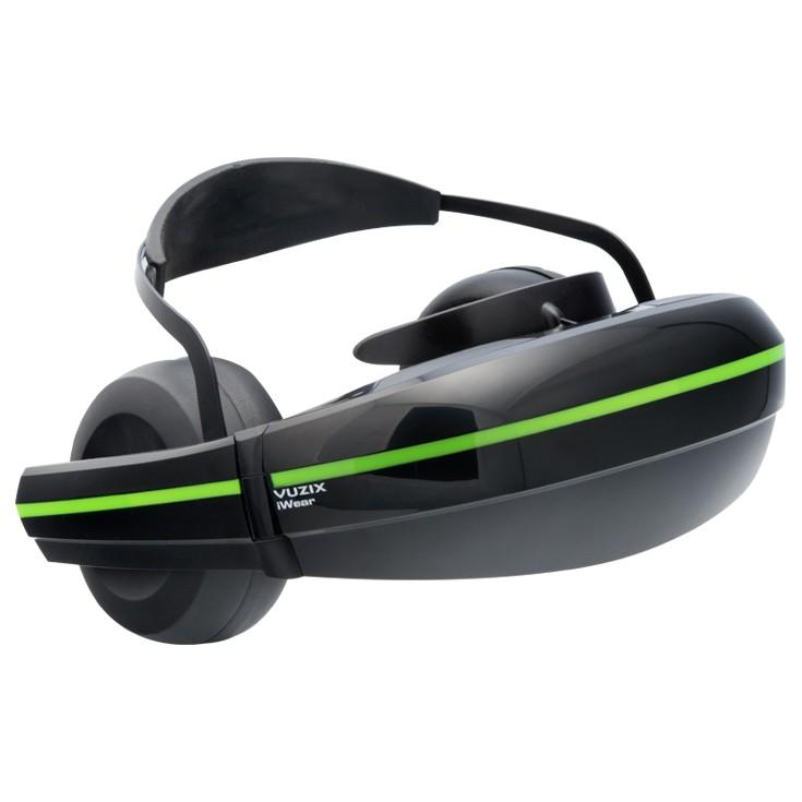 [iteminfo_actress_name] いろいろ、VR・ヘッドマウントディスプレイ、AV家電、ブラック 【VUZIX/VR ヘッドマウントディスプレイ】iWearビデオヘッドフォン