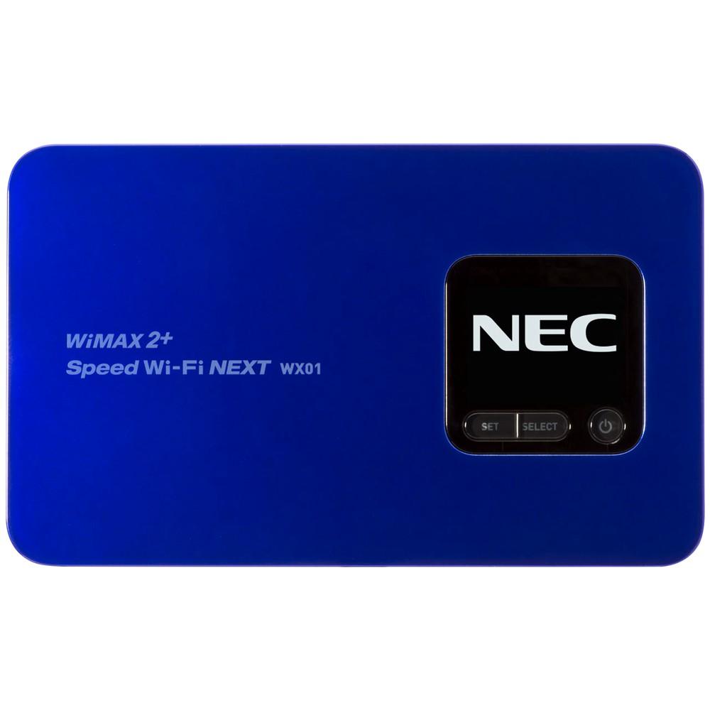 【WiMAX/モバイルWiFi】Speed Wi-Fi NEXT WX01 [ディープブルー]