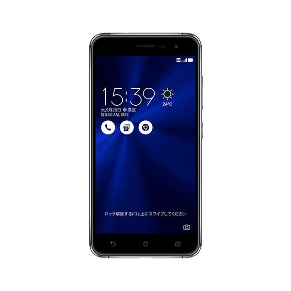 いろいろ、SIMフリースマートフォン、PC・オフィス、ブラック ASUS ZenFone 3 サファイアブラック(SIMフリースマホ)
