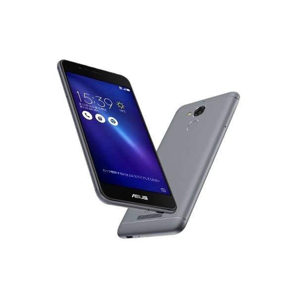 いろいろ、SIMフリースマートフォン、PC・オフィス、グレー ASUS ZenFone3 Max グレー(SIMフリースマホ)