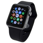 Apple Watch Series3(GPSモデル) 42mm スペースグレイアルミニウムケース/ブラックスポーツバンド