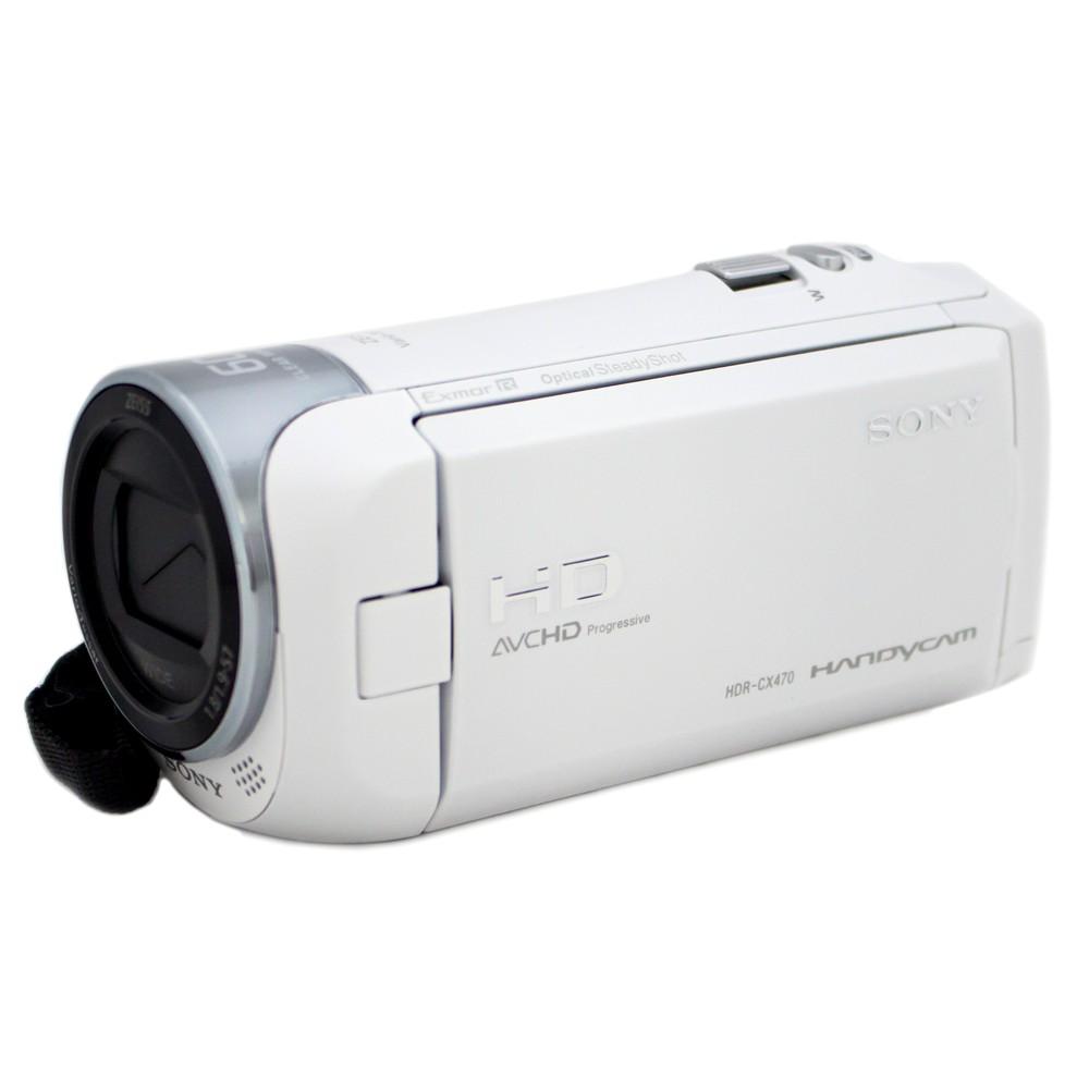 [iteminfo_actress_name] いろいろ、ビデオカメラ、カメラ、ホワイト 【ソニー/ハンディカム】デジタルHDビデオカメラレコーダー HDR-CX470 ホワイト