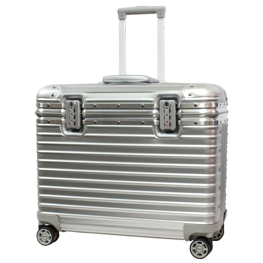 いろいろ、スーツケース(1〜3泊)、旅行、シルバー 【1〜3泊】リモワ PILOT 4輪 34L スーツケース シルバー