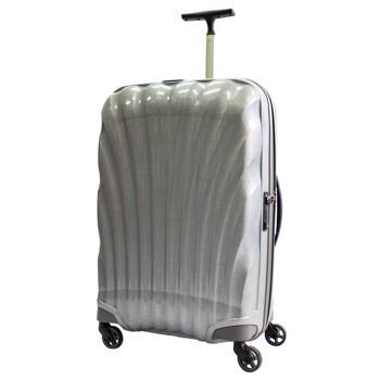 [4-7泊]サムソナイト コスモライト スピナー 68L スーツケース シルバー
