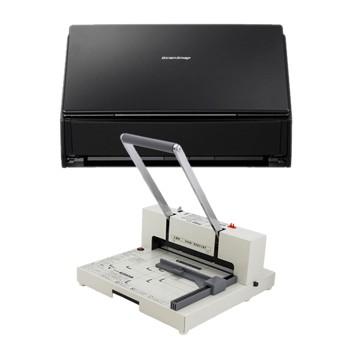 自炊・電子書籍化キット iX500 FI-IX500A(スキャナー)+ PK-513LN(裁断機)
