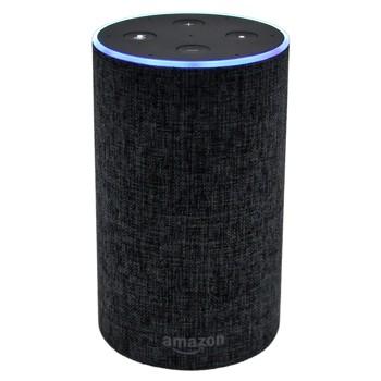 Amazon Echo スマートスピーカー チャコール