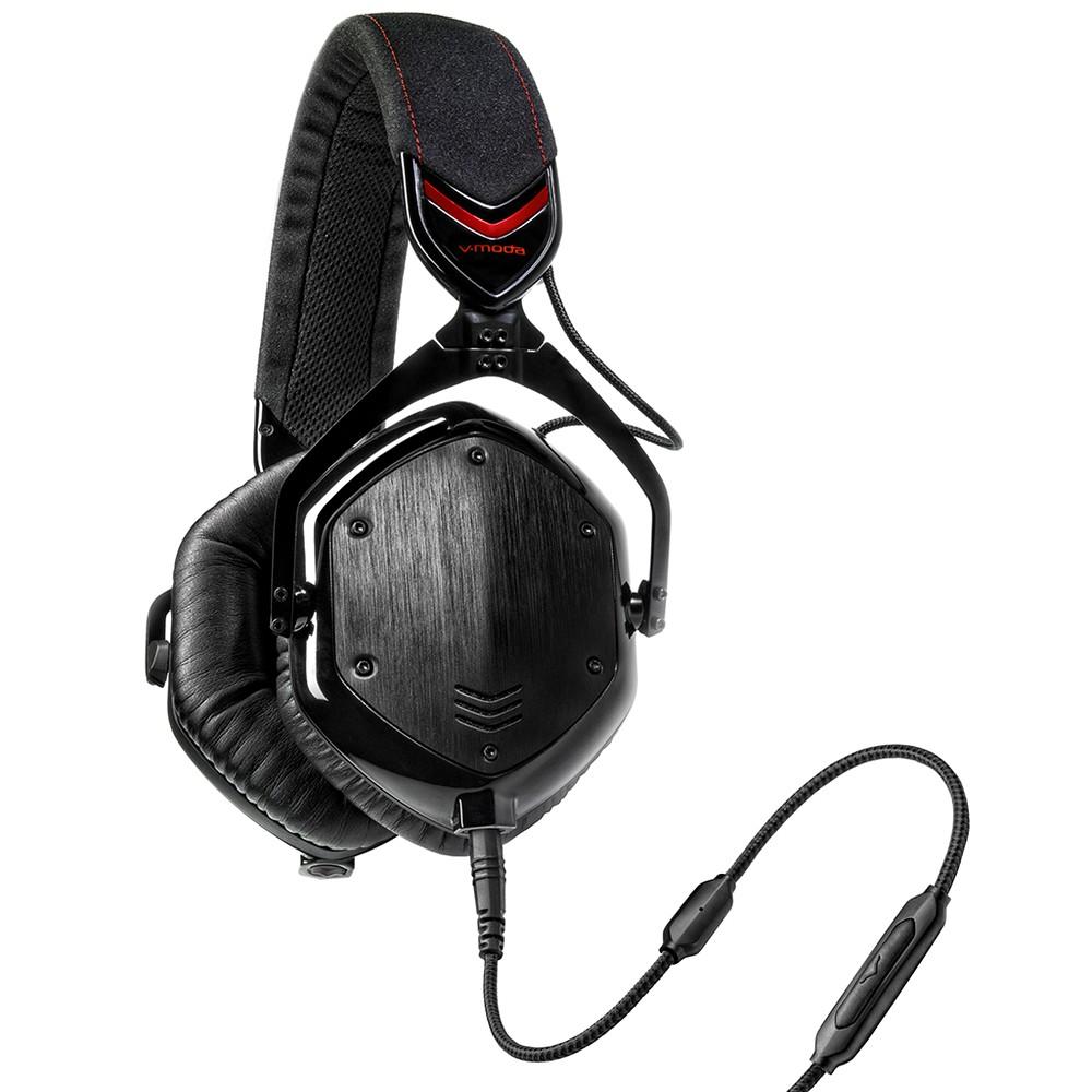 いろいろ、オーディオ機器、AV家電、ブラック V-MODA Crossfade M-100(有線専用ヘッドホン、マイク付き)[シャドウ]