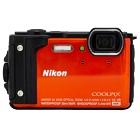 【ニコン/クールピクス】1605万画素 防水デジタルカメラ COOLPIX W300[オレンジ]