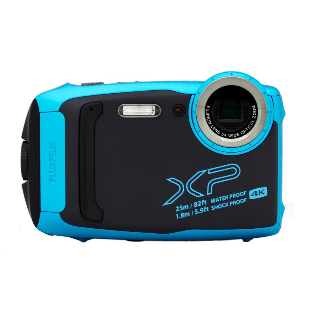 【富士フイルム/ファインピックス】1635万画素 防水デジタルカメラ FinePix XP140[スカイブルー]