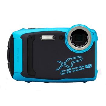 [XP140]ファインピックス 富士フイルム 防水カメラ スカイブルー
