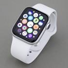 Apple Watch Series4(GPSモデル) 40mm シルバーアルミニウムケース/ホワイトスポーツバンド