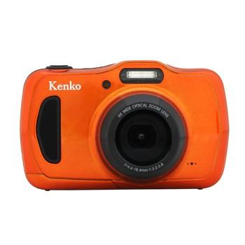 [DSC200WP]ケンコー 防水カメラ オレンジ