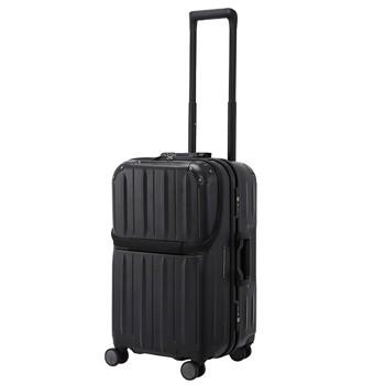 [1-3泊]サンコー スーパーライト MGC コンテナー 45L スーツケース ブラック