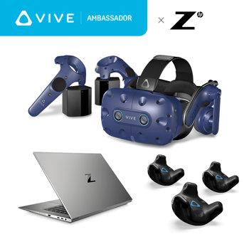 [VIVEアンバサダー限定]VIVE Pro Eye + トラッカー PCセット