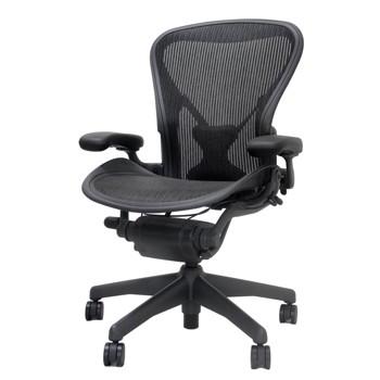 アーロンチェア クラシック ハーマンミラー オフィスチェア Bサイズ ブラック