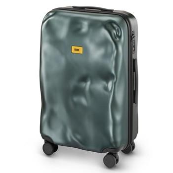 [4-7泊]クラッシュバゲージ 65L スーツケース メタルグリーン