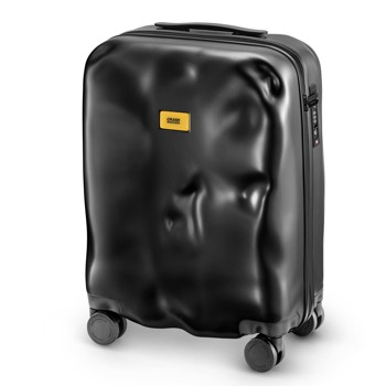 [1-3泊]クラッシュバゲージ 35L スーツケース ブラック