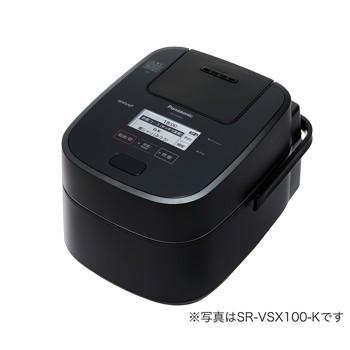 [SR-CVSX180] パナソニック スチーム&可変圧力IHジャー炊飯器 ブラック