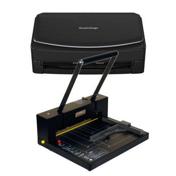 自炊・電子書籍化キット iX1600 FI-IX1600(スキャナー)+ 200DX(裁断機)